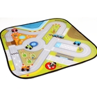House of Toys - Circuit cu Masinute din Lemn Road Playing Mat