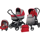 Peg Perego - Carucior 3 in 1 Book Plus S Black POP-UP