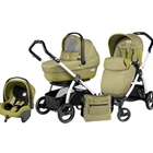 Peg Perego - Carucior 3 in 1 Book Plus S Black White Completo SL