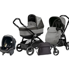 Peg Perego - Carucior 3 in 1 Book Plus Black POP-UP