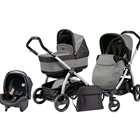 Peg Perego - Carucior 3 in 1 Book Plus Black Silver POP-UP