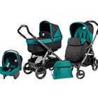 Peg Perego - Carucior 3 in 1 Book Plus 51 Black POP-UP