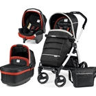 Carucior 3 in 1 Book Plus S Black White POP-UP Synergy, Peg Perego