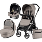 Peg Perego - Carucior 3 in 1 Book Plus 51 Black Sportivo SL