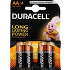 Set 4 Baterii Tip AA Long Lasting Power, Duracell