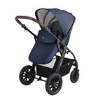Kinderkraft - Carucior 3 in 1 Moov Navy