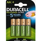 Set 4 Acumulatori AA 2500 mAh Recharge Ultra, Duracell
