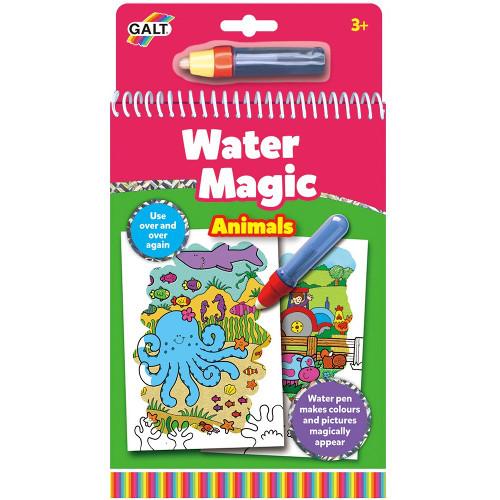 Water Magic Animals - Carte Colorat Apa Magica Animale, Galt