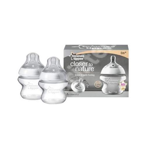Biberon Closer to Nature 150 ml TS 2 bucati, Tommee Tippee