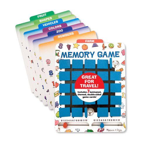 Joc de Memorie Intoarce si Castiga, Melissa and Doug