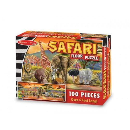 Puzzle de Podea Safari, Melissa and Doug