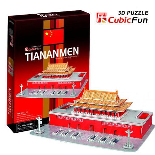Puzzle 3D Tiananmen, CubicFun
