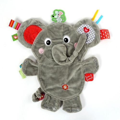 Minipaturica Friends - Elefantelul, Label Label