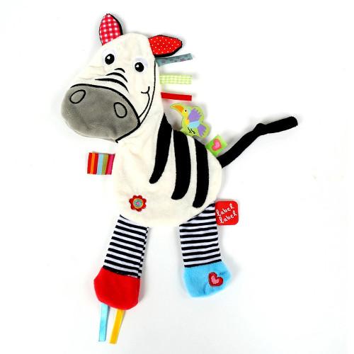 Minipaturica Friends - Zebra, Label Label