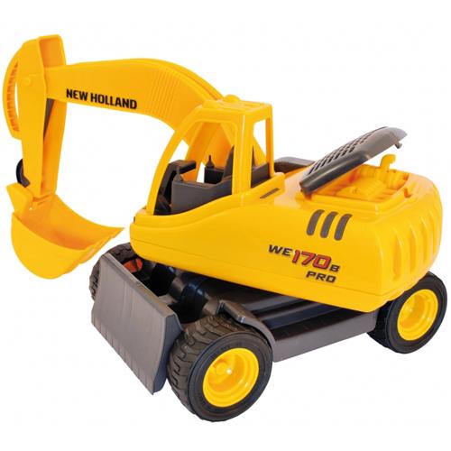 Macheta Excavator pe Senile New Holland WE170B PRO, BigBoysToys