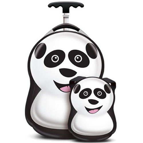 Set Troler si Ghiozdan Cheri the Panda, Cuties and Pals