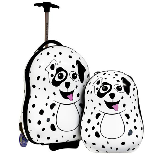 Set Troler si Ghiozdan Pupster the Dalmatian, Cuties and Pals