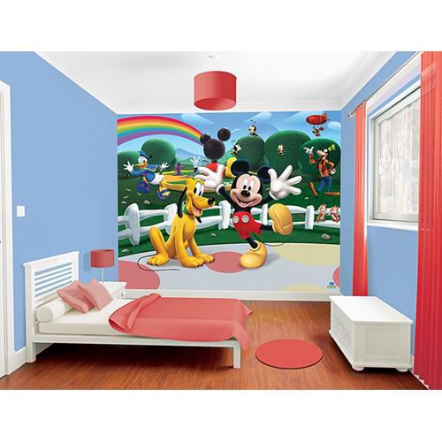 Tapet pentru Copii Mickey Mouse Clubhouse, Walltastic