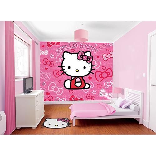 Tapet pentru Copii Hello Kitty, Walltastic