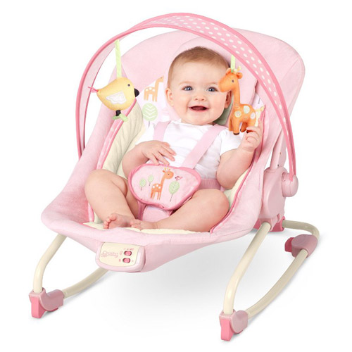 Balansoar 2 in 1 Girafaloo Rocker, Bright Starts