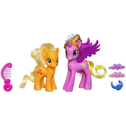 Hasbro - My Little Pony - Cadance si Applejack