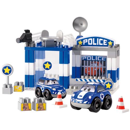 Set Constructii Sectia de Politie, Ecoiffier