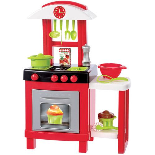Bucatarie Pro Cook cu 15 Accesorii, Ecoiffier