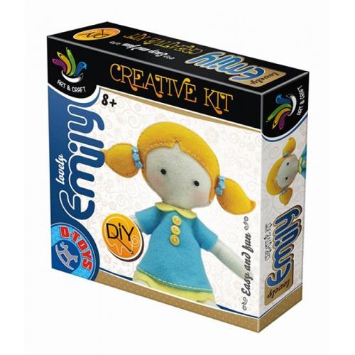 Joc Creativ Papusa Emily, D-Toys