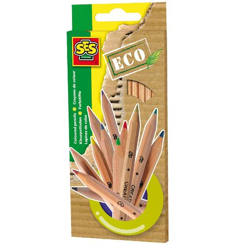 SeS - Set Creioane Eco 12 Culori