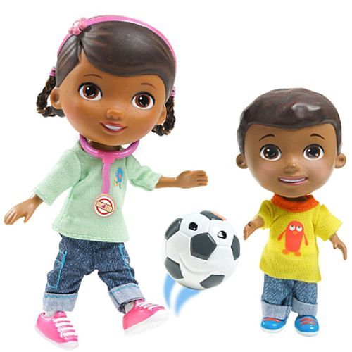 Figurine Doctorita Plusica si Donny Playtime, Disney
