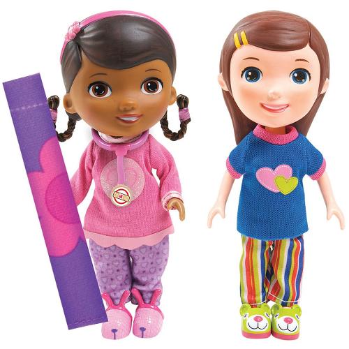 Figurine Doctorita Plusica si Emmie Slumber Party, Disney