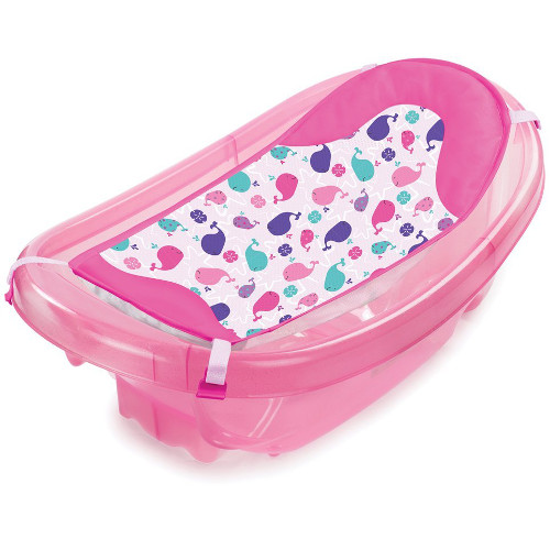 Set Cadita si Suport de Baita Sparkle and Splash, Summer Infant