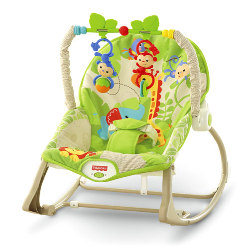 Balansoar 2 in 1 Infant to Toddler Rainforest Friends, Fisher-Price