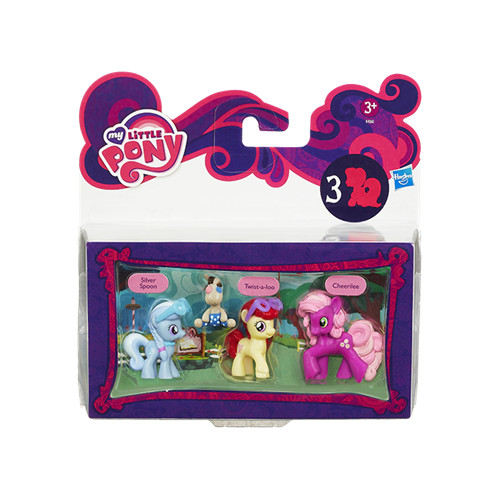 Hasbro - My Little Pony - Set 3 Figurine