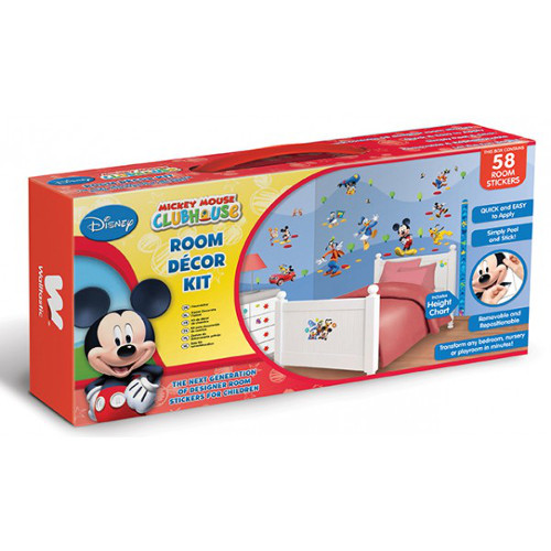 Kit Decor Mickey Mouse Clubhouse, Walltastic
