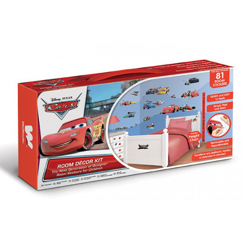 Kit Decor Disney Cars, Walltastic