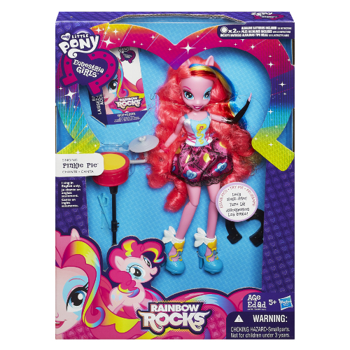 Hasbro - My Little Pony Equstria Girls That Rock Pinkie Pie