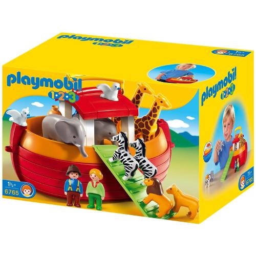1.2.3 - Arca lui Noe Portabila, Playmobil