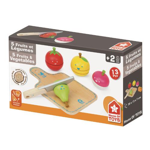 Jucarie pentru Taiat Legume si Fructe, House of Toys