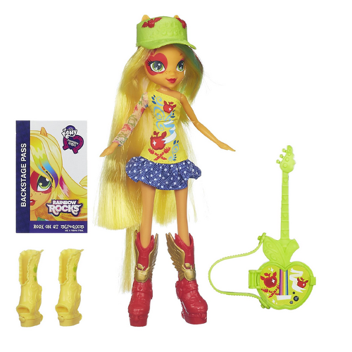 Hasbro - My Little Pony Equestria Girls - Apple Jack cu Accesorii