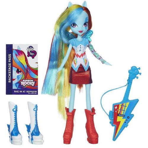 Hasbro - My Little Pony Equestria Girls - Rainbow Dash cu Accesorii