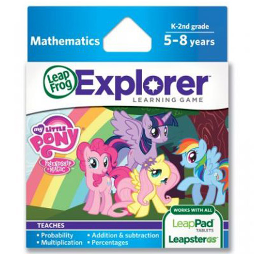 Leap Frog - Soft Educational LeapPad - My Little Pony