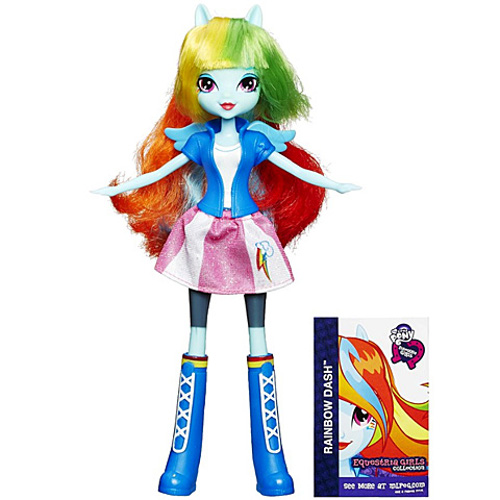 Hasbro - My Little Pony Equestria Girls Rainbow Dash Papusa la Moda