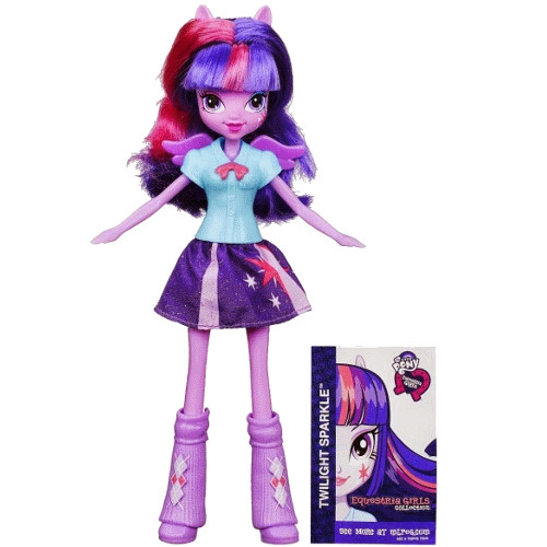 Hasbro - My Little Pony Equestria Girls Twilight Sparkle Papusa la Moda