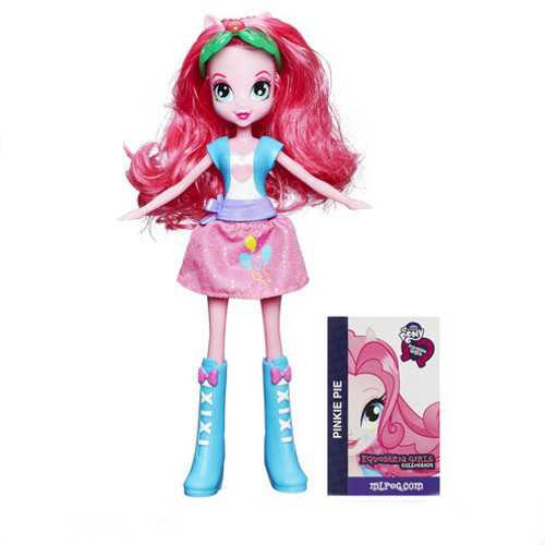 Hasbro - My Little Pony Equestria Girls Pinkie Pie Papusa la Moda