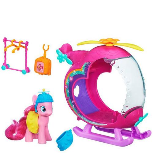 Hasbro - My Little Pony Elicopterul Curcubeu Pinkie Pie