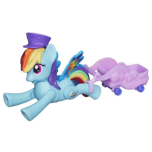 Hasbro - My Little Pony - Rainbow Dash Zoom and Go Party
