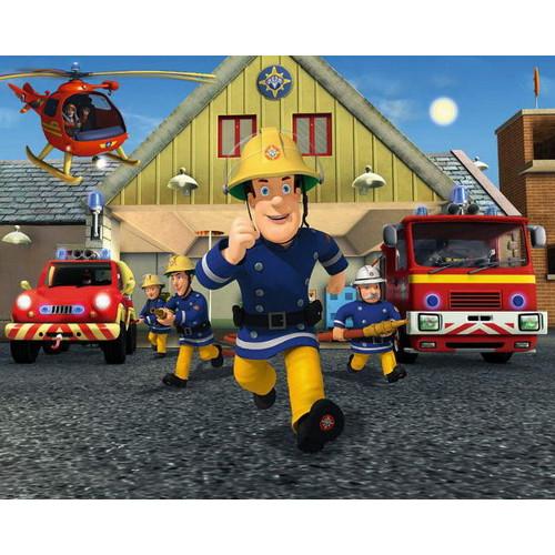 Tapet pentru Copii Pompierul Sam, Walltastic