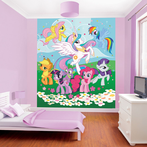 Walltastic - Tapet pentru Copii My Little Pony Friendship is Magic