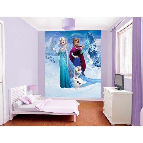 Tapet pentru Copii Frozen, Walltastic